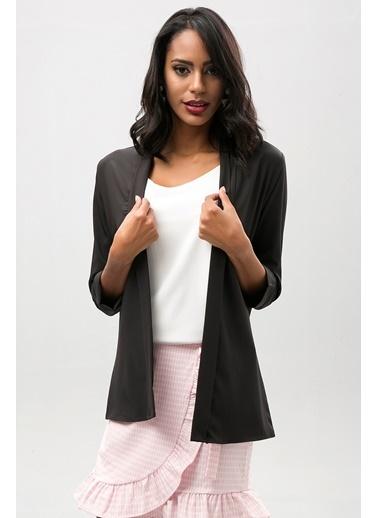 New Laviva Ceket Siyah